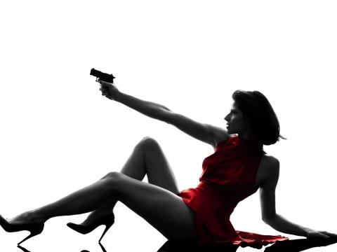murder mystery sexy girl